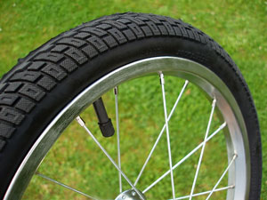 bicycle wheel and tire